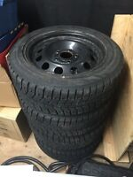 255-55-16 winter tires on rims - bmw 5x120