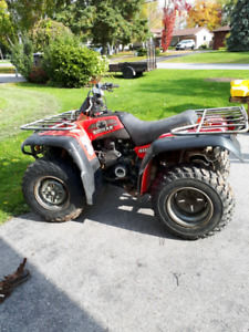 Yamaha 400 Grizzly 4 x 4