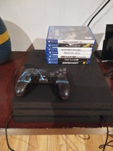 PS4 Pro 1TB with 7 games