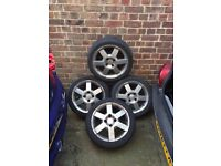 Ford 16inch alloys with good tyres ka fiesta escort Mondeo focus