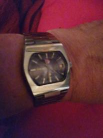 £100 OFF NOW 💥 RADO SILVER SABRE vintage automatic watch