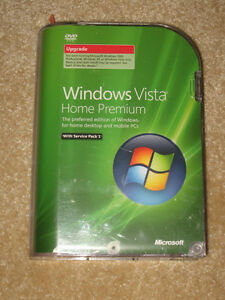 New Windows Vista Home Premium Upgrade For Sale
