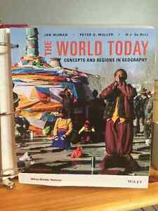 The World Today: Concepts and Regions in Geography Regina Regina Area image 1