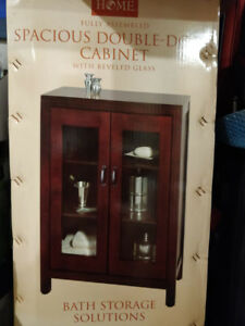 Brand new Double door Display cabinet