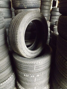 235/55R18 Bridgestone Duelers – 1000's of Used Tires Available Peterborough Peterborough Area image 1
