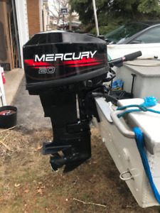 20 HP Mercury outboard-SOLD