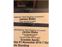James Blake London tickets