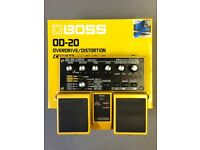 Boss OD-20 overdrive/distortion pedal