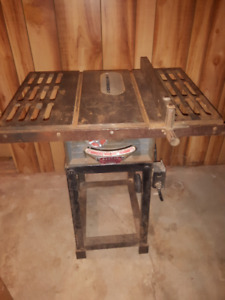 "Beaver 8"" cast iron saw table or table saw"