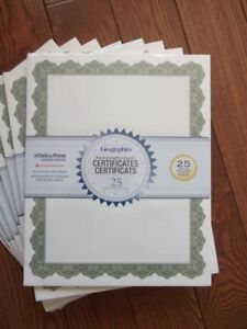 500+ Geographics Award and Recognition Certificates