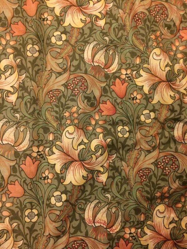 William Morris style curtains