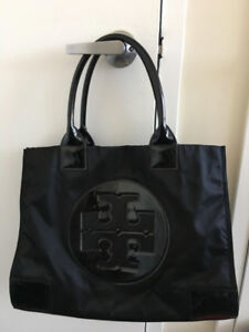 Used Tory Burch Ella Patent Tote Bag - Mint condition