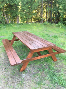 8 Foot Picnic Table 8 seat