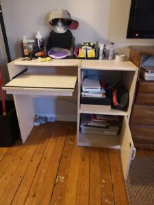 Dresser and Computer Desk