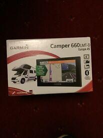 Garmin camper 660 LMT-D Europe 45 BRAND NEW