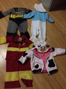 Kids Toddler costumes -Lot of 4