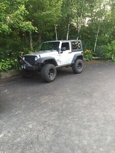 2009 Jeep Wrangler lifted sale or trade