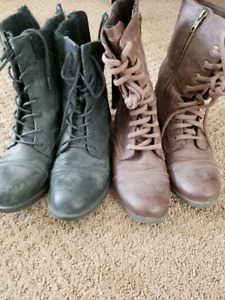 Size 6 boots 10 for both!