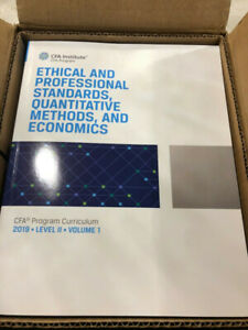 2019 CFA Level 2 Curriculum Books