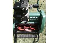 QUALCAST 35S CLASSIC PETROL LAWNMOWER SELF PROPELLED LEAVES GREAT LINES