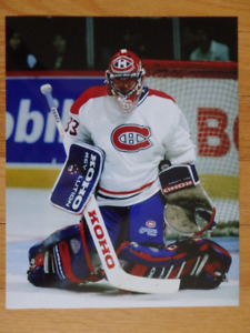 PATRICK ROY Montreal Canadiens Unsigned 8 x 10 Photo