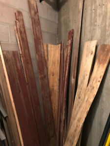 Bar wood boards