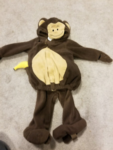 Monkey costume 6-12mos