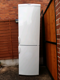 John Lewis tall frost free fridge freezer for sale.