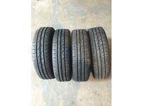 175/65/15 part worn tyres