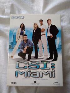 CSI Miami saison 1 TV serie