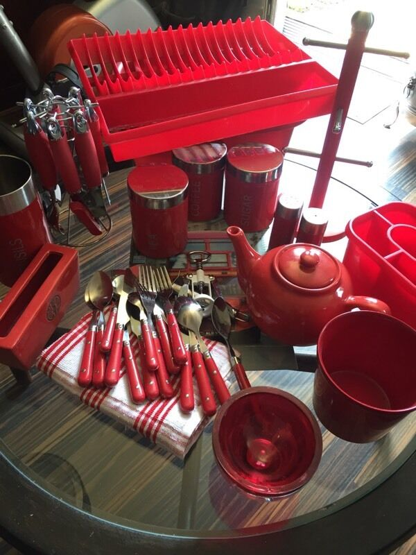 RED KITCHEN ACCESSORIES 1635 in West Bridgford  : 86 from www.gumtree.com size 600 x 800 jpeg 80kB