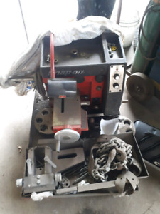 Snap on brake lathe