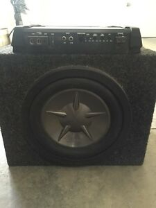 """10"""" subs with 300watts mono amp"""