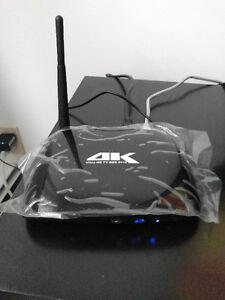 4K OctaCore Android Box -- Loaded Brand New