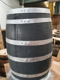 Refurbed oak whisky barrel