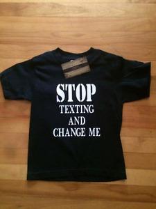 T-shirt pour enfants & Cache-couche