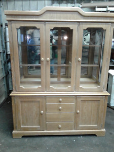 Two piece hutch for sale........