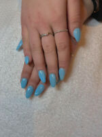 Pose ongle poudre&resine