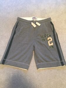 Superdry sweat shorts size Large