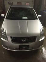2008 Nissan Sentra S Sedan with remote starter