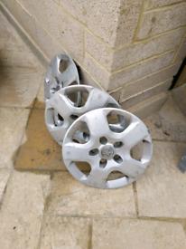 Used wheel trims