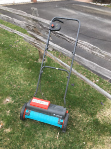 Reel Mower, electric, cordless.