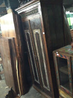 Penderie armoire bois teck Indonesie/Indonesia wood wardrobe