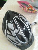 Boy youth size Trek bike helmet