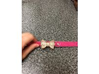 HOT PINK blingtastic collar