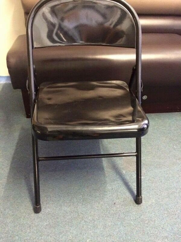 20 black metal chairs | in Middlesbrough, North Yorkshire | Gumtree