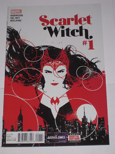 Marvel Comics Scarlet Witch#1 comic book
