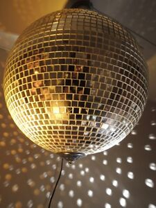 16 Inch Professional Mirror Ball  Package w 2 Pin Spots & Motor