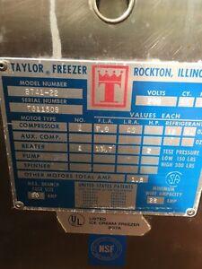 Taylor Soft Serve Machine Kawartha Lakes Peterborough Area image 2