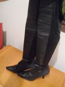 High Quality Soft Calf Leather Thigh High Boots !! Mint ! SZ 7 ! Edmonton Edmonton Area image 3